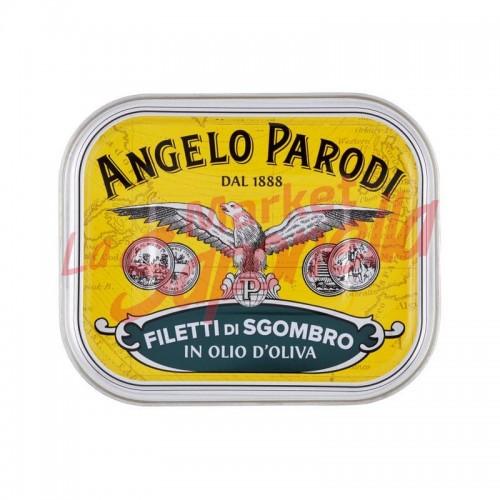 Conserva macrou in ulei de masline  Angelo Parodi 230 gr