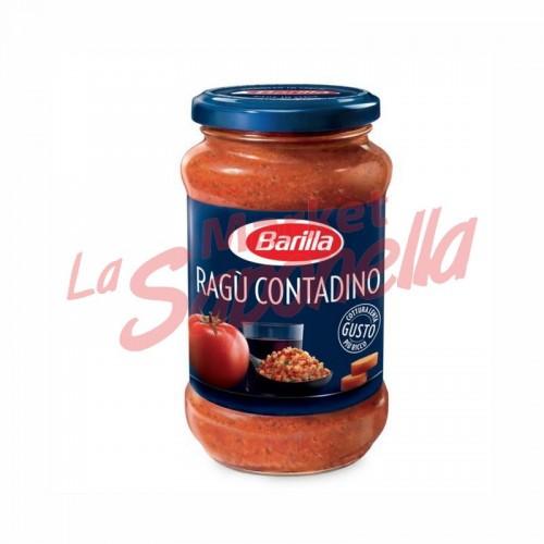 Sos de paste fara gluten Ragu contadino Barilla – 400 g