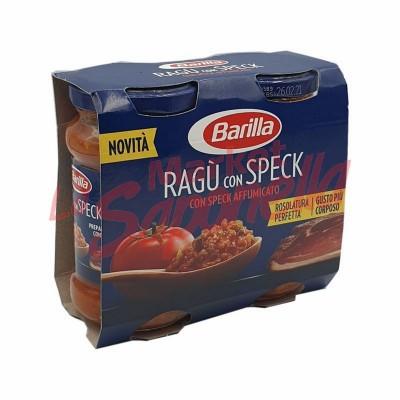 Sos pentru paste ragu cu Speck afumat Barilla -180 g – 2 bucati-360g