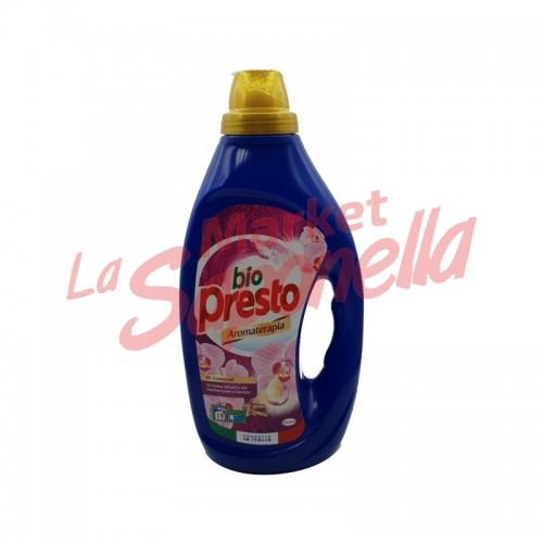 Detergent lichid Bio Presto pentru haine colorate,cu orhidee și lemn de santal 950 ml -19 spalari