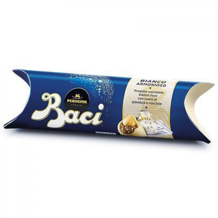 Praline Baci Perugina cu ciocoloata alba, gianduia si alune 37.5gr