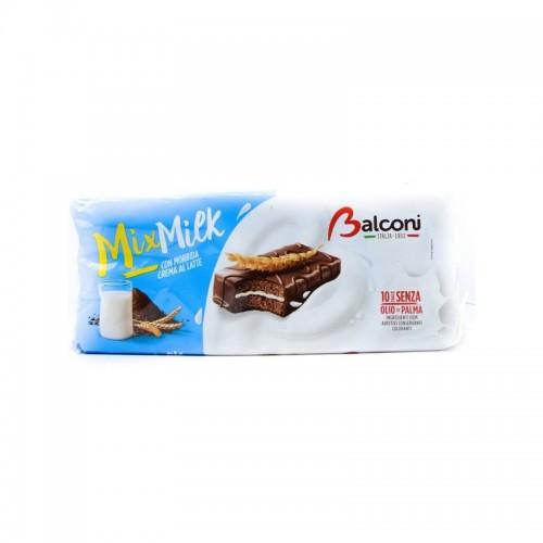 Merendine Balconi Mix Milk cu crema de lapte 280g