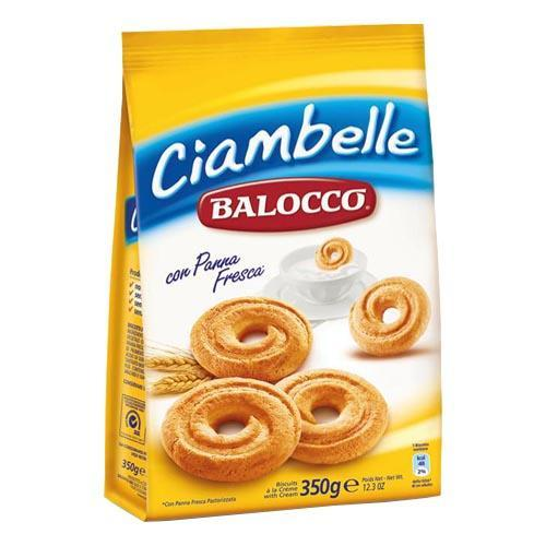 Biscuiti Balocco Ciambelle cu smantana proaspata 350g