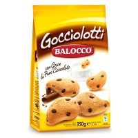 Biscuiti Balocco Gocciolotti cu bucati de ciocolata 350 gr