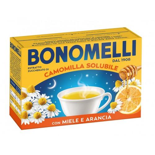 Ceai solubil de musetel cu miere si portocala Bonomelli fara gluten 16 buc 80 gr