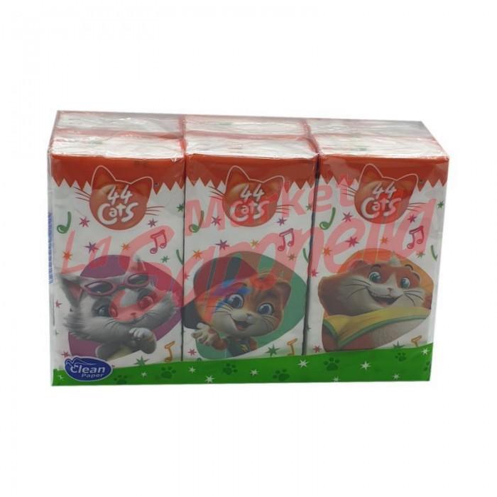 Servetele nazale Clean Paper 4 straturi - 6 bucati