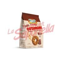 """Biscuiti Divella """"Ottimini"""" integrali cu bucati de ciocolata 350 g"""