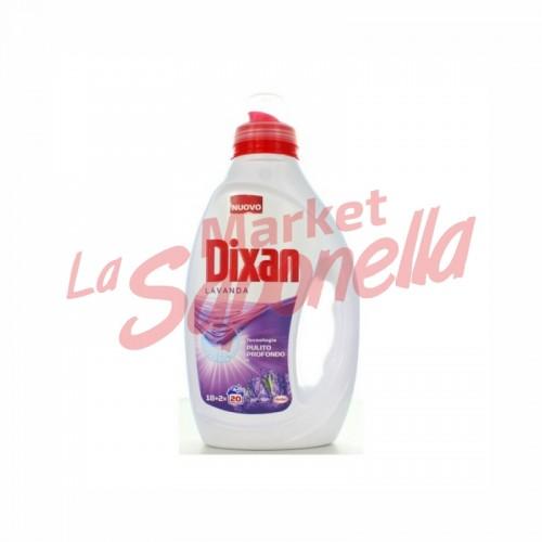Detergent lichid cu lavanda Dixan – 1L – 20 spalari