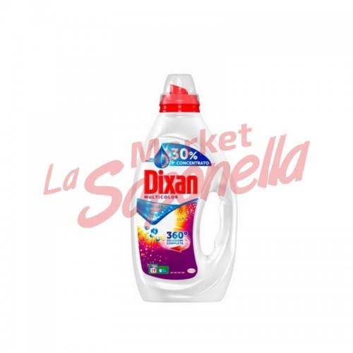 Detergent lichid Dixan 360 °C multicolor 1,000 L – 20 spalari
