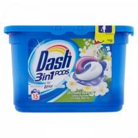 Detergent pernute Dash 3 in 1 cu orhidee alba 396gr 15 buc