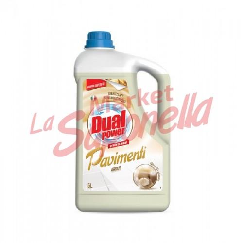 DUAL POWER-  detergent profesional pentru pardoseala cu Argan 5L