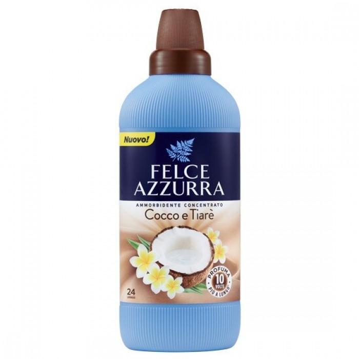 Balsam concentrat de rufe Felce Azzurra cocco si tiare 24 spalari 600ml