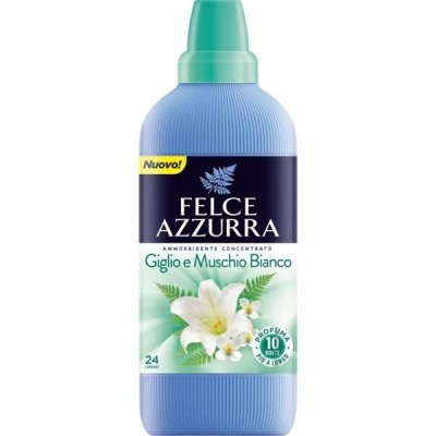 Balsam de rufe concentrat Felce Azzurra crin si musc alb 600 ml -24spalari