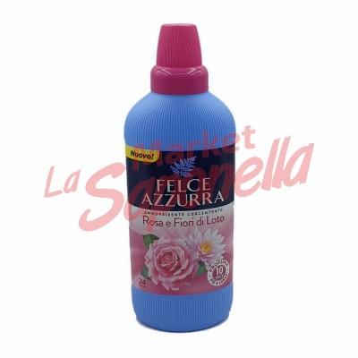 Balsam de rufe concentrat trandafir si flori de lotus Felce Azzurra – 600ml