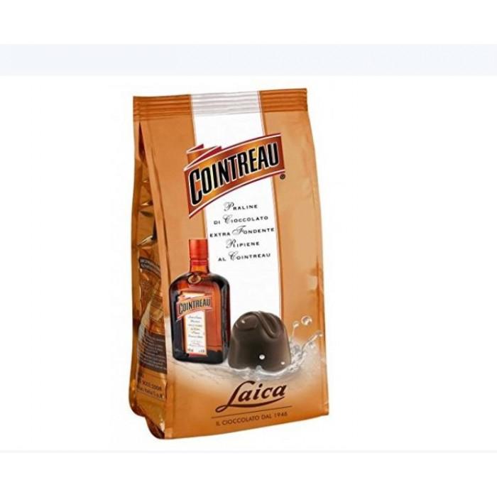 Praline Laica cu ciocolata extra fondanta si lichior Cointreau 90gr