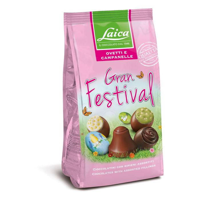 Oua si clopotei de ciocolata Gran Festival Laica 275gr