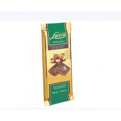 Ciocolata Laica cu lapte si umplutura de alune 100gr