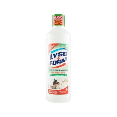 Detergent pardoseala Lyso+Form dezinfectant cu cedru si bergamota 900ml