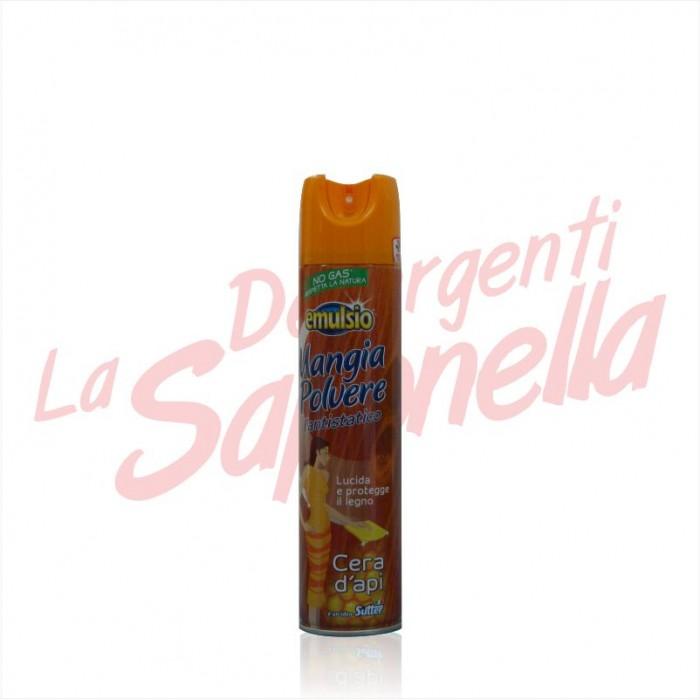 Spray mobila Emulsio Mangia Polvere cu ceara de albine 300 ml