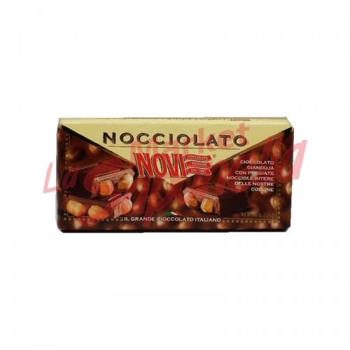 Tableta de ciocolata Novi Gianduja cu alune 130 g