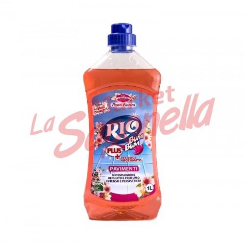 Detergent Pardoseala Rio Bum Bum cu Flori de piersic 1L
