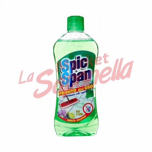 Detergent pardoseli Spic&Span iris si lamaie 1 Lt