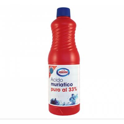Acid muriatic Amacasa puternic 33% 1 Lt