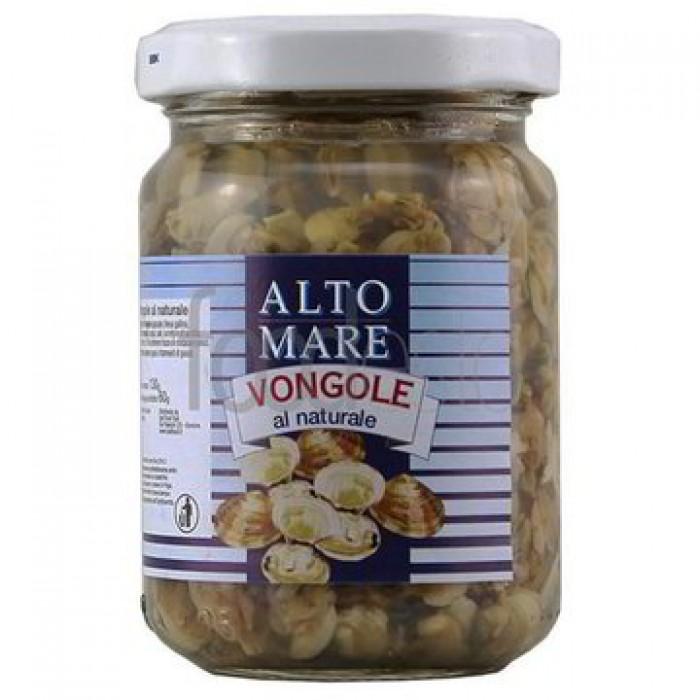 Vongole Alto Mare in sos natural 130 g