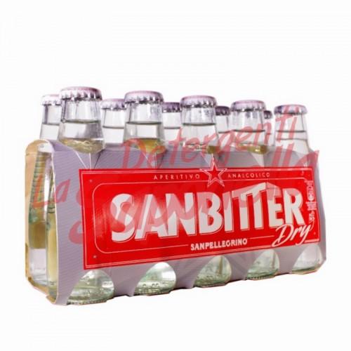 "Aperitiv nealcoolic Sanpellegrino ""Sanbitter"" 10x100 ml"