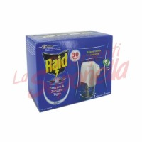 Aparat electric anti-tantari Raid -rezerva lichida-fara parfum-1 rezerva