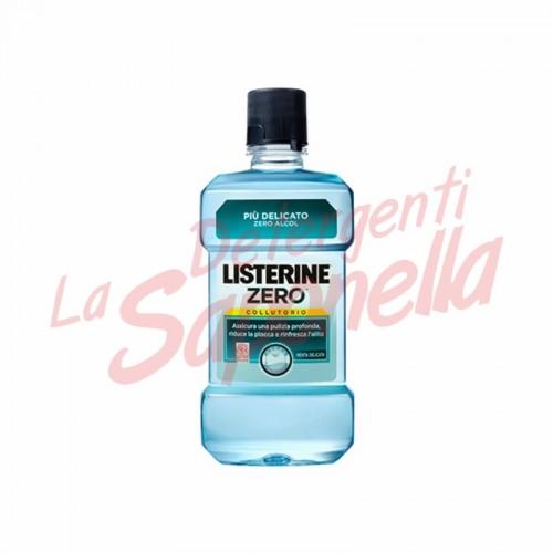 Apa de gura Listerine Zero cu menta delicata 500 ml