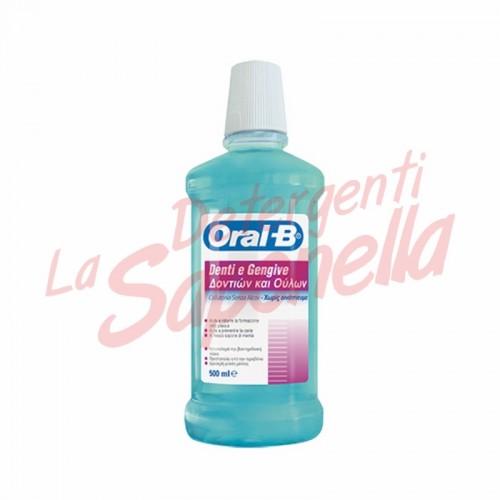Apa de gura Oral-B fara alcool 500 ml