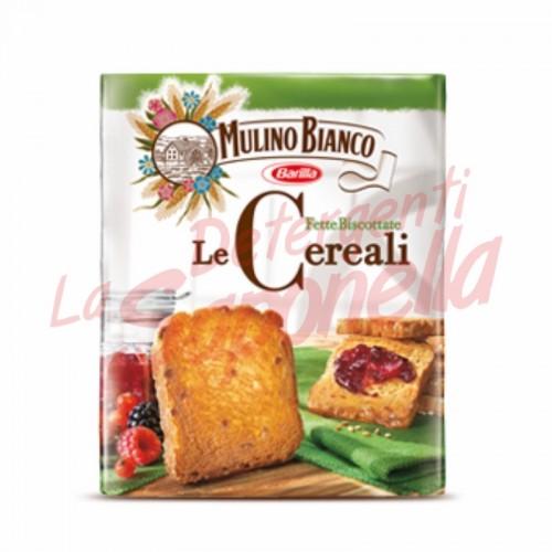 Paine prajita Mulino Bianco cu cereale 315 gr- 32 bucati