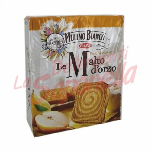 Paine prajita Mulino Bianco cu malt de orz 315 gr- 32 bucati