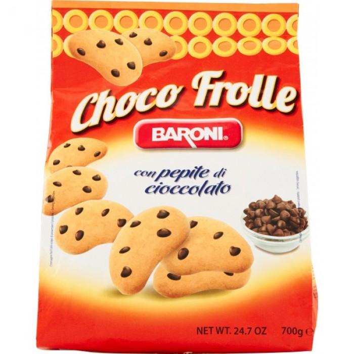 Biscuiti cu bucati de ciocolata Baroni Choco Frolle 700gr