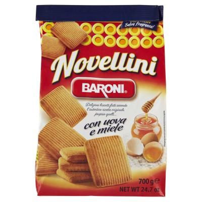 Biscuiti Baroni Novellini cu oua si miere 700gr