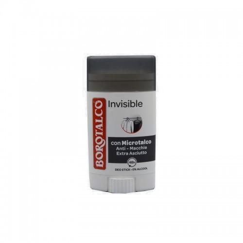 Antiperspirant Borotalco stick invizibil 40 ml
