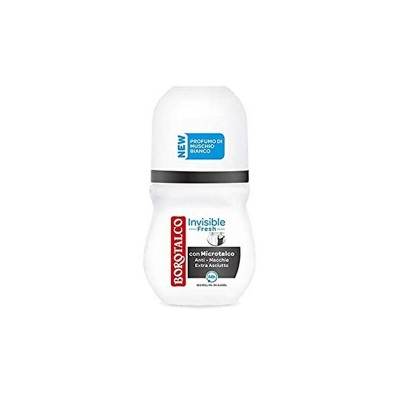 Antiperspirant Borotalco roll-on invisibile fresh 50ml