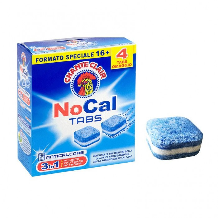 Anticalcar tablete masina de spalat rufe Chanteclair NoCal  20buc 240gr