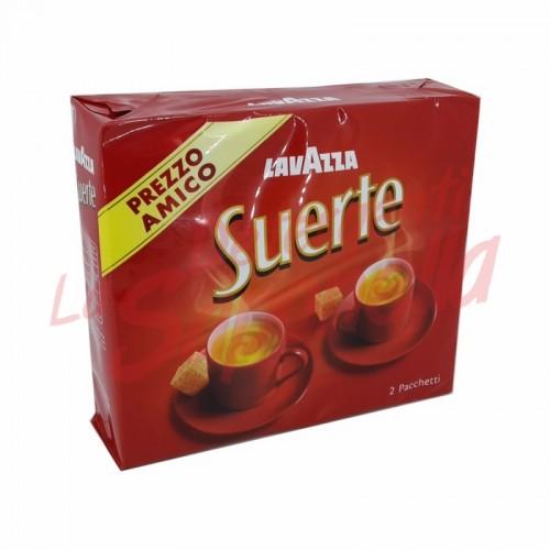 Cafea macinata Lavazza Suerte 2X250 gr