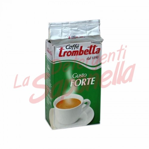 Cafea macinata Trombetta-gust puternic 250 gr