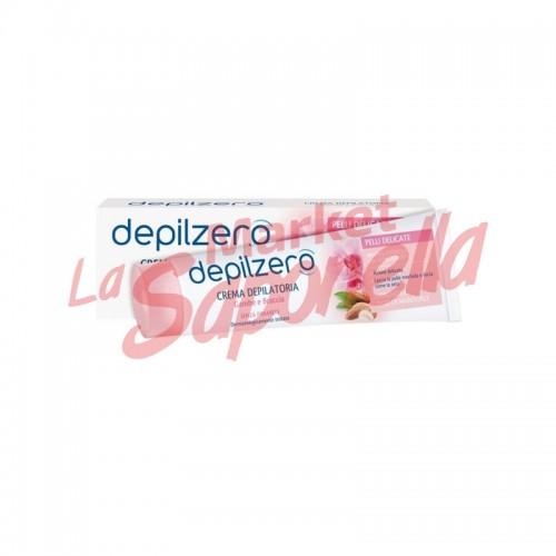 Depilzero crema depilatorie pentru piele sensibila-150 ml