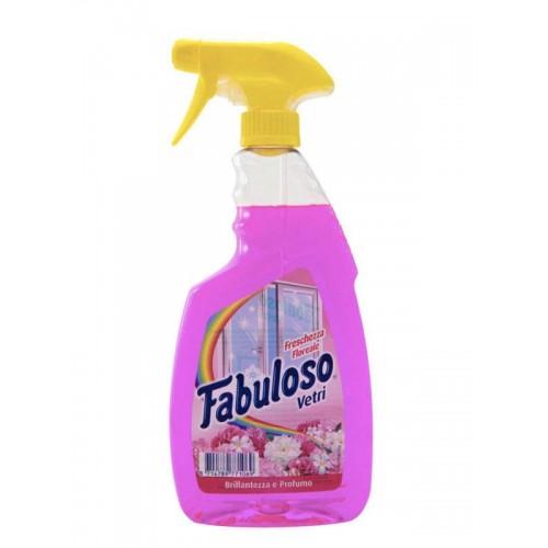 Spray de geam Fabuloso cu parfum floral 600ml
