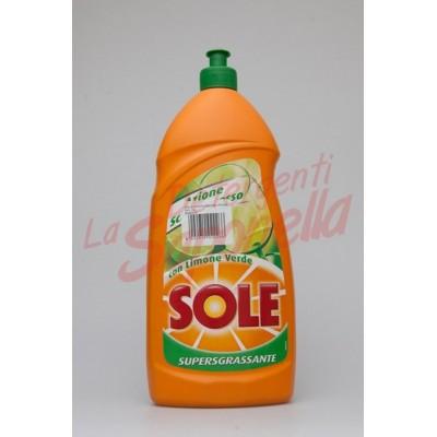 Detergent de vase Sole superdegresant cu lamaie verde 1100 ml