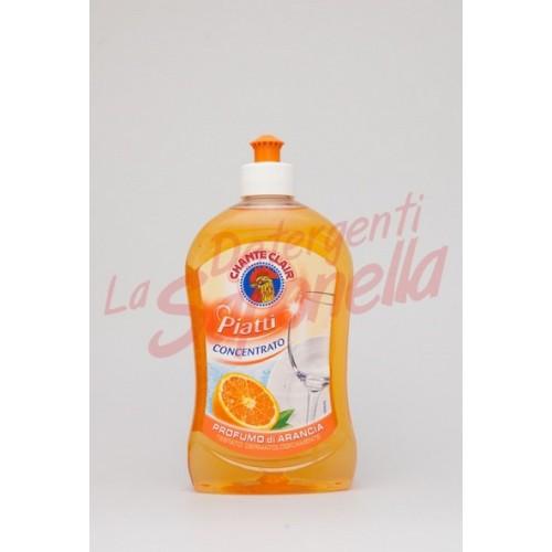 Detergent de vase Chante Clair cu parfum de portocale 500 ml
