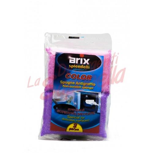 Bureti Arix anti-zgariere pentru suprafete delicate - 2 bucati