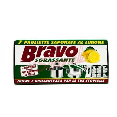 Bureti Bravo cu sapun-aroma lamaie 7 bucati