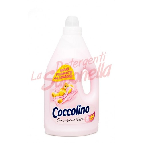 Balsam de rufe Coccolino Senzatie de matase  4L -44 spalari