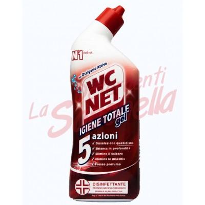 Gel wc Wc Net Igiena Totala cu 5 actiuni 700 ml