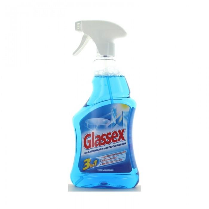 Glassex spray sticla 3in1 cu amoniac 500 ml